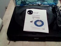 seal usb turntable with instructions and drivers for converting vinyl onto computer