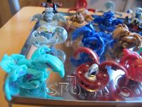 BAKUGAN MAGNETIC BATTLE GAME CREATURES INC CARDS AND RULEBOOK - £2 EACH