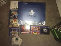 Dreamcast boxed and games