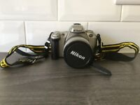 Nikon F55 35mm with 28-80mm Lens & strap