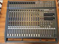SAMSON TXM20 Powered Mixing Desk 20 Channels 1000 Watts