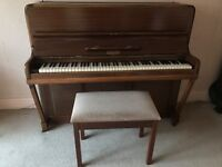 Kemble used small upright piano for sale