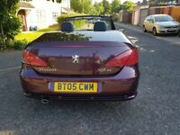 2005 Peugeot 307 CC 1.6 16v 2dr Manual @07445775115
