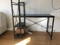 4 shelving Study PC Table Computer desk for Home Office Furniture Study Workstation