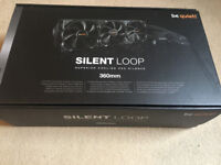 360mm be quiet! Silent Loop AIO Watercooler with 3 Fans (Liquid Cooling System)