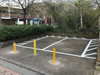 Private car parking spaces