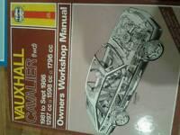 Haynes vauxhall cavalier workshop manual
