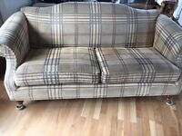 USED SOFA AND ARMCHAIR FOR SALE - USED BUT LOTS OF LIFE LEFT!
