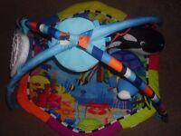 Baby play mat, play centre, pram toys