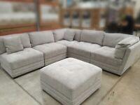 Brand new grey corner settee