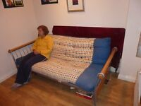 Sofa Bed - folds down to full size double bed