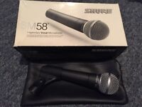 Shure SM58 Microphone - As New