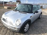 MINI ONE 1.6 PETROL MOT JUNE 2018