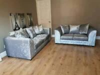 Sofa velvet crush 3+2 seater