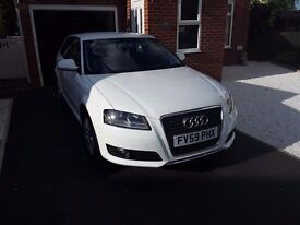 Audi A3 white 20 tax low mile no offers