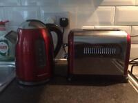 Matching Morphy Richards toaster and kettle