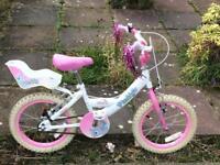 Girls bike - 17 wheel (6+ yrs)