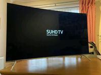 55in Curved Samsung SUHD HDR 1000 4K QDot Smart LED TV WI-FI Freeview HD & FreeSat HD Warranty