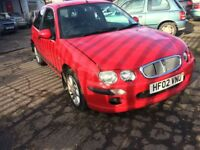 ROVER 25 IMPRESSION 2 RED PETROL 1396CC 84BHP**** NATIONWIDE DELIVERY*** BARGIN