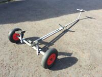 Galvanized Boat Launching Trolley