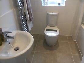 1 bed furnished apartment inc bills Huddersfield