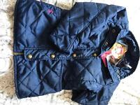 Girls Joules Quilted Jacket