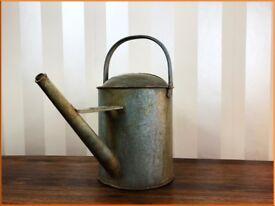 Vintage Beldray Galvanised Watering Can - 1950's Planter Garden