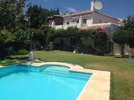 Villa detached ,Spain, swimming pool, sell or swap UK land or property Costa deal sol