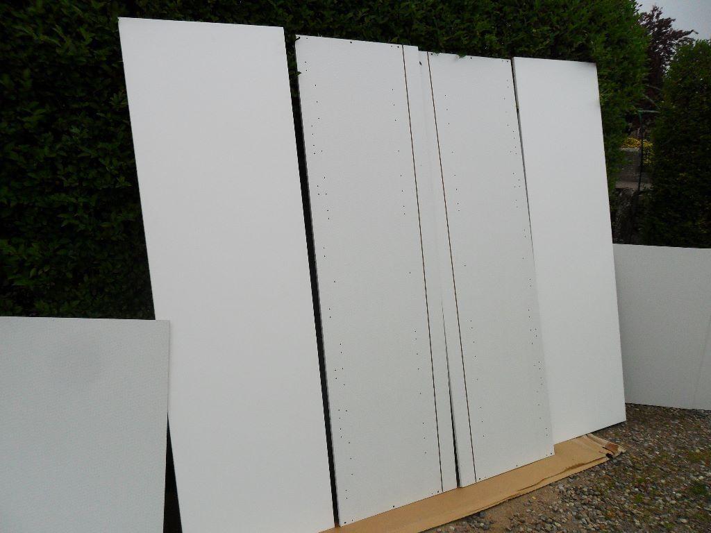 Bq Kitchen Brand New Bq Kitchen 4 X Tall Wall Decor End Haffit Panels White