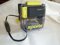 Sony Camcorder and Underwater Housing
