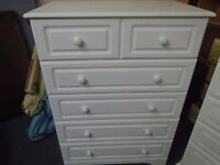 large modern chest of drawers.
