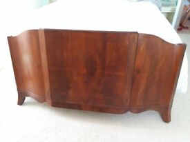 Quality antique craftsman built head board and foot board