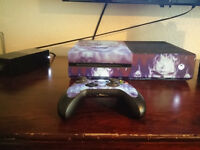 XBOX ONE CONSOLE 500GB + 1 CONTROLLER + FIFA 16,CALL OF DUTY GHOSTS.