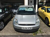 Ford Fiesta 1.4 lx auto 2004 silver