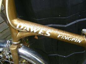 Dawes Vintage Folding Bike in good condition