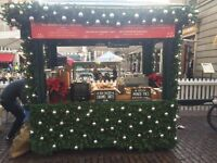 Part time seasonal staff needed for a Christmas Cart in Central London!