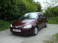 vauxhall corsa. 1.2 5 door hatchback years mot . clean. and tidy. service history . excellent drive