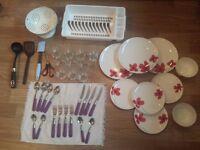 Dining necessities + kitchen tools