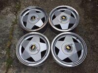 Borbet A deep dish alloy wheels, 5x112, 15inch, Mercedes e190, Vito, Caddy Vw