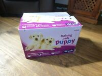Box of 97 ( orig 100) Puppy training pads from Pets at home