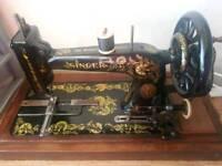 vintage 1905 singer sewing machine