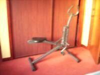 Exercise machine, foldable, easy storage