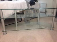 Glass TV Stand up to 50/60""