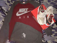 Nike Air Tracksuit Mens Size Large/XL & Nike Air Huarache Size 11 Mens (Mens Nike trainers Size 11)