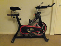 We R Sports Rev Xtreme S1000 Spin Bike with Floor Mat & DVD - Ultimate Spinning Package - £200!!