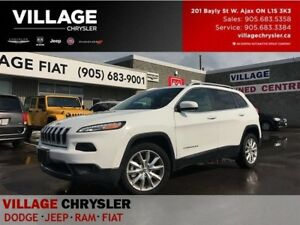 2016 Jeep Cherokee Limited|Nav|Blinds|Leather|Backup Cam