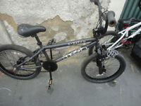 USED CONDITION, A NICE BLACK BMX