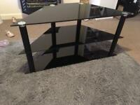 3 Tier glass tv cabinet/stand