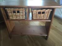Solid wood side units (2)