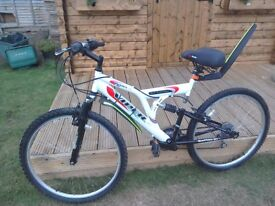 Mountain bike duel suspension.. excellent condition hardly used